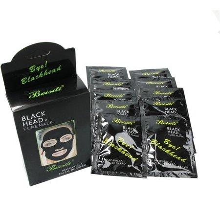 Beisiti Beisiti Bye Blackhead Gezichtsmasker 10 Stuks – Verwijderd Mee-eters en Puistjes – voor de Normale Huid