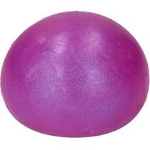 SlijmBal  – 10 cm – Squishy – Stressbal voor Kinderen – Paars