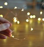 Banzaa 40 ledverlichting Warm Wit voor Indoor Gebruik met Koperdraad – 420 cm | Lichtsnoer Lampjes voor Feesten en Partijen | Sfeerverlichting