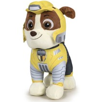 Paw Patrol Mighty Pups - Rubble Plush 20cm