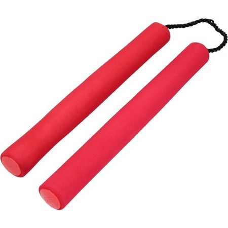 Baki the Grappler Baki The Grappler Nunchacku's – Nunchucks – Vechtstokken – Rood