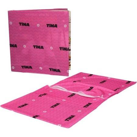 Simply Products Tina Rekbare Boekenkaft voor Schoolboeken A4 2 Stuks Roze – 22x40x1cm | Schoolspullen | Klaar voor School | Lesboeken