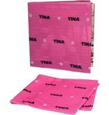 Banzaa Tina Rekbare Boekenkaft voor Schoolboeken A4 2 Stuks Roze – 22x40x1cm | Schoolspullen | Klaar voor School | Lesboeken
