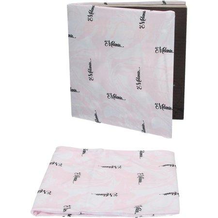 Banzaa La Melanie Rekbare Boekenkaft voor Schoolboeken A4 2 Stuks Roze – 22x40x1cm