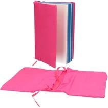 Boekenkaft voor Schoolboeken A4 2 Stuks Hard Roze