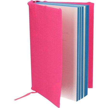 Banzaa Rekbare Boekenkaft voor Schoolboeken A4 2 Stuks Hard Roze – 18x30x1cm