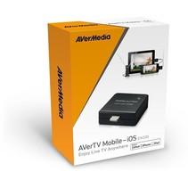 Avermedia AverTV Mobile-iOS EW330 Geschikt voor Ipod Iphone en Ipad – 16x12cm | Live TV Kijken | Genieten van uw Favoriete tv-shows