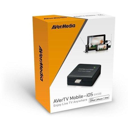 AverMedia Avermedia AverTV Mobile-iOS EW330 Geschikt voor Ipod Iphone en Ipad – 16x12cm | Live TV Kijken | Genieten van uw Favoriete tv-shows