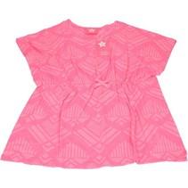 Roze Strand Jurkje voor Meisjes - Maat 116/122