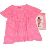 Banzaa Roze Strand Jurkje voor Meisjes - Maat 116/122 | Kleding voor Kinderen | Zomerkleding Beach Wear