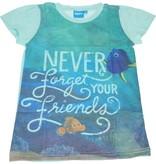 Disney Finding Dory  T-shirt voor Meisjes - Maat 116/122 | Kinderkleding | Kleding voor Kinderen | Zomerkleding