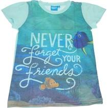 Finding Dory  T-shirt voor Meisjes - Maat 128/134 | Kinderkleding | Kleding voor Kinderen | Zomerkleding