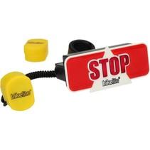 Bikelite Extra Veilig Remlicht voor de Fiets + Gratis Montagemateriaal | Fietsverlichting Stop Signaal | Veilig Verkeer Nederland