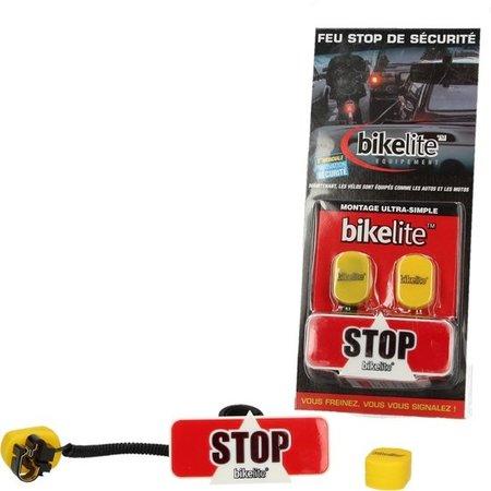 Ikelite Bikelite Extra Veilig Remlicht voor de Fiets + Gratis Montagemateriaal | Fietsverlichting Stop Signaal | Veilig Verkeer Nederland