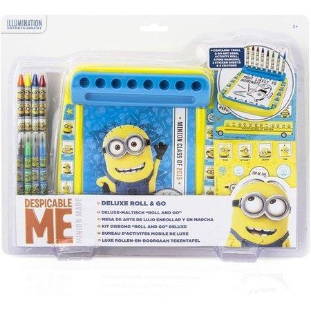 Dispicable Me Minion Tekenbord set met Kleurtjes en Tekeningen – 35x26x5cm | Tekenen en Ontdekken voor Kinderen | Verschrikkelijke Ikke Tekenset | Despicable Me