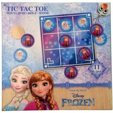 Disney Disney Frozen Tictactoe Hout