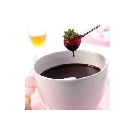 Lily cook Lily cook Roze Chocolade Fondue Pot voor het Smelten van Chocolade in de Magnetron – 9x9cm