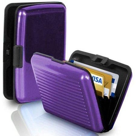 Banzaa Premium Lichtgewicht Alu Wallet Portemonnee Pashouder - Paars