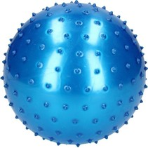 Massage Bal groot 19cm Blauw