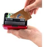 Banzaa RFID Anti-Skim Aluminium Creditcardhouder - Kaarthouder - Card Protector - Pasjeshouder - Rood