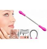 Banzaa Premium Epileerveer voor Ontharen van Wenkbrauwen - Fel Roze | Verwijderen Overtollig Gezichtshaar | Haar Verwijderen | Epileer | Epileren | Beauty | Verzorging