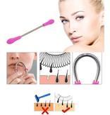 BDO Premium Epileerveer voor Ontharen van Wenkbrauwen - Fel Roze | Verwijderen Overtollig Gezichtshaar | Haar Verwijderen | Epileer | Epileren | Beauty | Verzorging