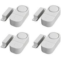 Draadloze Mini-Alarmen Set met Bewegingssensor 4 Stuks  95 dB - Inclusief Batterijen