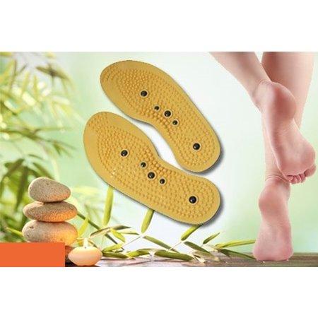 Banzaa Magnetische Inlegzool voor Schoenen Maat 36-48 Verstelbaar   Comfort Voeten   Accupressuur Zolen