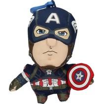 Marvel Avengers Captain America Sprekende Sleutelhanger 12cm