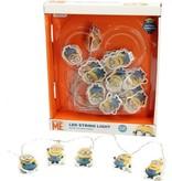 Minions Minions Led Lichtsnoer - 3.10M | Deze Kevin, Bob en Stuart Lampjes Geven Magie aan de Slaapkamer van je Kinderen | Lampen voor Jongens en Meisjes | Lichtslang | Verlichting