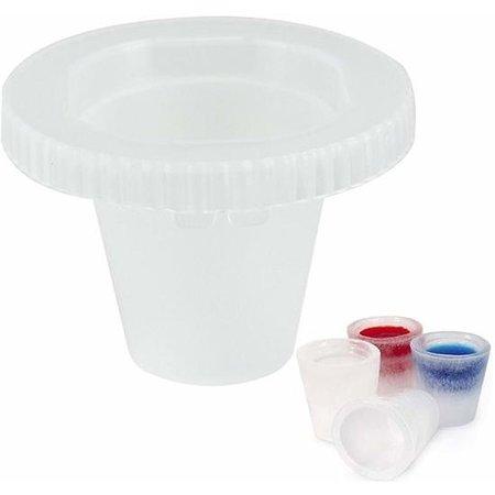 Cosy & Trendy Cosy&Trendy Ijsglaasjes Maker – 12 Glaasjes 32x19cm  – Ijsblokjesvorm Shotglaasjes
