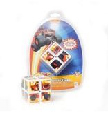 Nickelodeon Nickelodeon Big Wheelz Rubiks Cube voor Kinderen – 5x5x5 cm | Educatief Speelgoed | Breinbreker Spellen | Kubus Oplossen