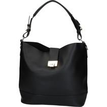 Zwarte Ruime Handtas voor Vrouwen