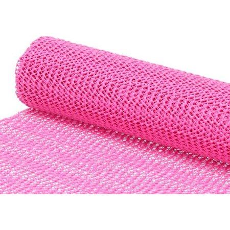 BDO Antislipmat – 30x150cm – Antislip Onderkleed op Rol – Roze
