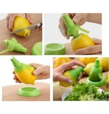 BDO Citroen Spray Citrus Spuit Duo Pack - BPA FREE   Citrus Plug   Keukenhulp   Keukengadget