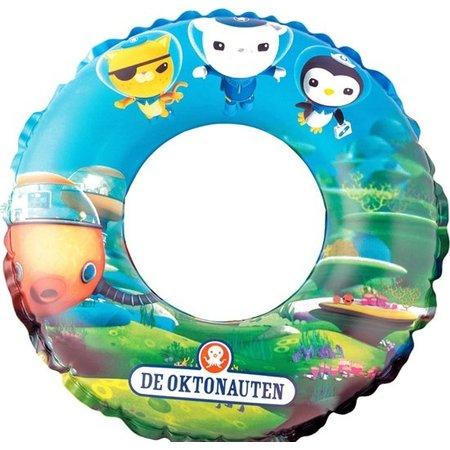 Happy People Octonauten Opblaasbare Zwemring voor Kinderen – 50 cm – Aanbevolen Vanaf 3 Jaar – Blauw