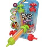 Banzaa Magic Kitchen Pull Pops Ijsjes Vormen voor Kinderen - Rood en Groen - 21x5 cm – 2 Stuks | Ijsjesmaker voor Yoghurtijsjes en Waterijsjes | Ijsjesvormen | Ijs Vormjes | Ijslolly Maken | Vries Spuit