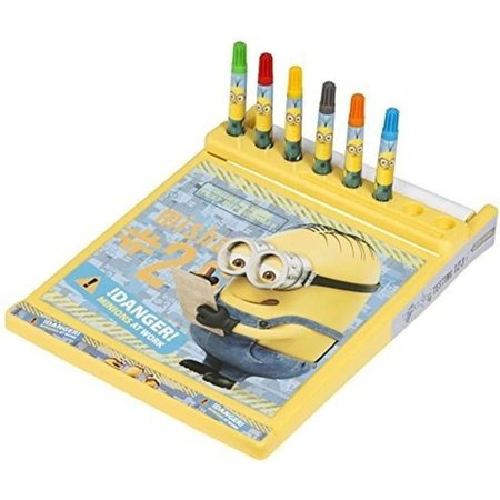 Minions Despicable me Multifunctioneel Kleur en Tekenbord Minions – 33x24x4cm | Verschrikkelijke Ikke Artset | Knutselspullen | Hobby en Creatief