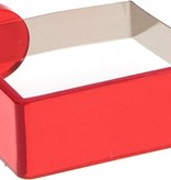 Banzaa Tafelkleedklemmen 4 Stuks Rood – 5x4x2cm | Tafelkleedgewichten | Klemmen voor het Tafellaken