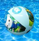 Happy People Oktonauten Opblaasbare Blauwe Strandbal voor Kinderen – Ø 50 cm