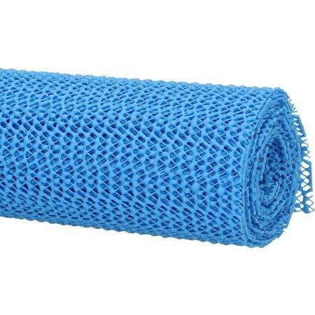 Banzaa Multifunctionele Non Slip Gripmat – Blauw – 30x150cm | Niet Klevende Antislipmat Gaas Patroon voor Bureaus en Keukenlades