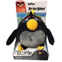 Angry Birds Sleutelhanger Bomb - Knuffel