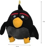 Angry Birds Angry Birds Sleutelhanger Bomb - Knuffel - 20 cm