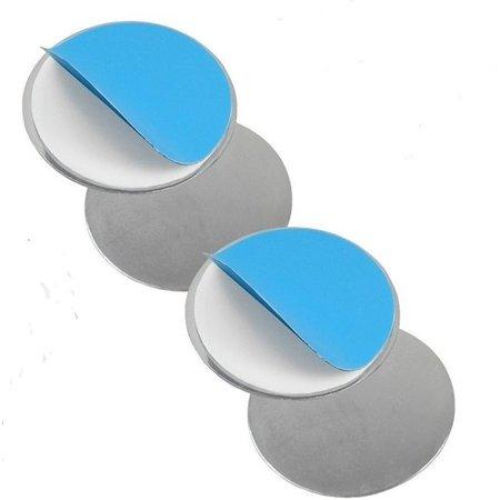 Banzaa Premium 2x Magnetisch Ophangsysteem voor Rookmelders - 2 Stuks    Vastplakken Rook Detector aan Plafond   Bevestigen Draadloze Rookmelder en Rookdetector   Rookalarm Assemblage Ophangsysteem   Brandalarm   Alarm