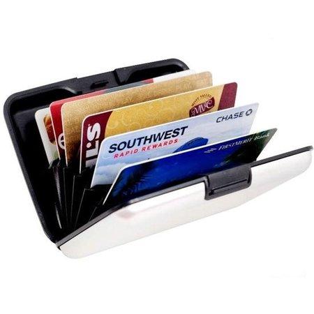 Banzaa Premium Lichtgewicht Aluwallet Portemonnee Pashouder Wit – 11x7cm | Portemonnees | Anti-Skimming | Credit Cardhouder | Geldknip | Pasjeshouder