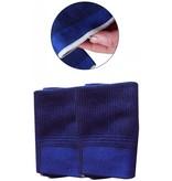 Banzaa Unisex Blauwe Compressie Elleboog Brace - Onesize - 2 Stuks | Elastische Elbow Support Sleeve Voorkomt Blessures bij Vrouwen en Mannen | Sport Ondersteunings Band | Bandage Strap Sleeves | One Size Arm Warmers