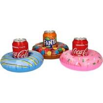 Opblaasbare Donuts Bekerhouder Set van 3 stuks