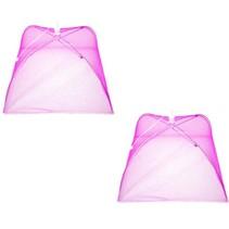 Vliegenkap Opvouwbaar 2 Stuks – 30x20cm roze