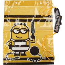 Stevige Verschrikkelijke ikke Transparante Strandtas voor Kinderen – 38x29x1cm | Minion Tas voor Jongens en Meisjes | Despicable me
