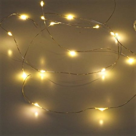 Banzaa 20 ledverlichting Warm Wit voor Indoor Gebruik – 115 cm | Lichtsnoer Lampjes voor Feesten en Partijen | Sfeerverlichting